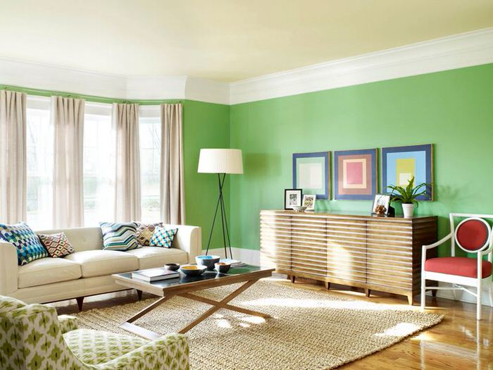 what kind of paint for living room walls