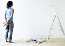 how to paint a wall yourself