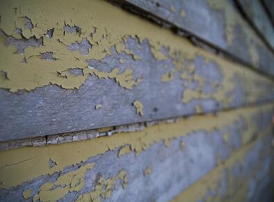Painting over Peeling Paint on Wood