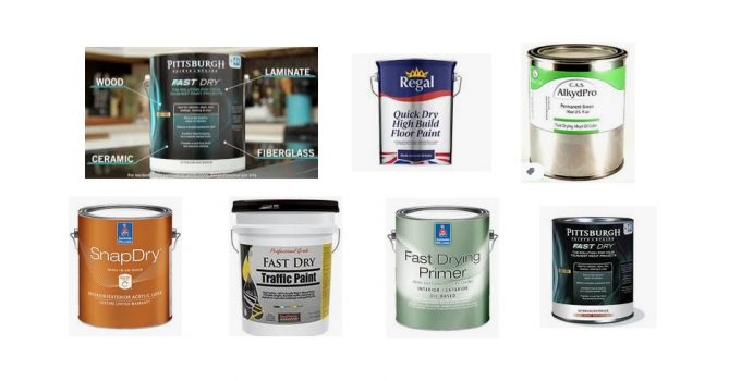 Fast Dry Paint - Quick Dry Paints